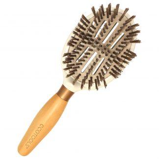 Sleek Shine Finisher hårbørste fra Ecotools