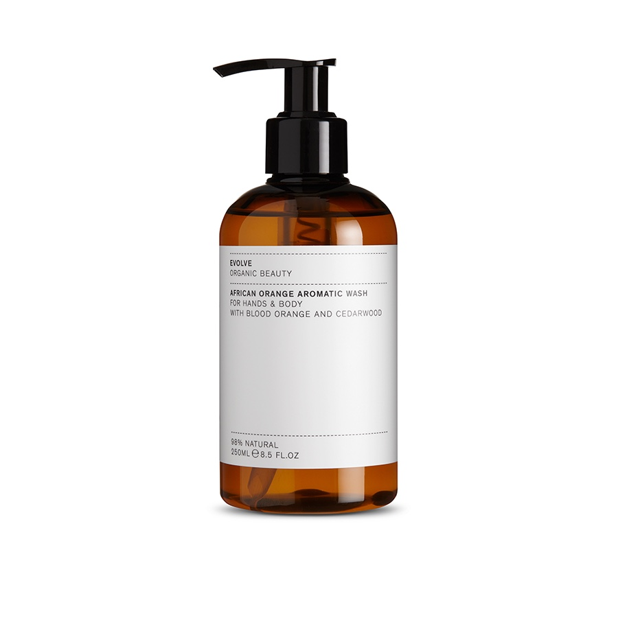 Image of   AFRICAN ORANGE AROMATIC WASH - 250 ML