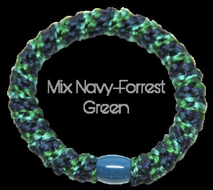 Mix Navy-Forrest Green Kknekki fra Bondep