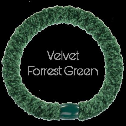 Velvet Forrest Green Kknekki fra Bondep