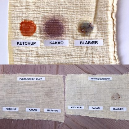 Naturlig Pletfjerner Blok fra Cocoon Organic Laundry