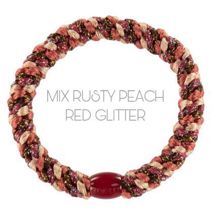 Kknekki Mix Rusty Peach Red Glitter
